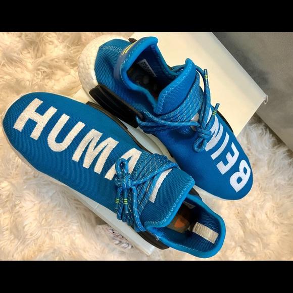 nmd human race blue
